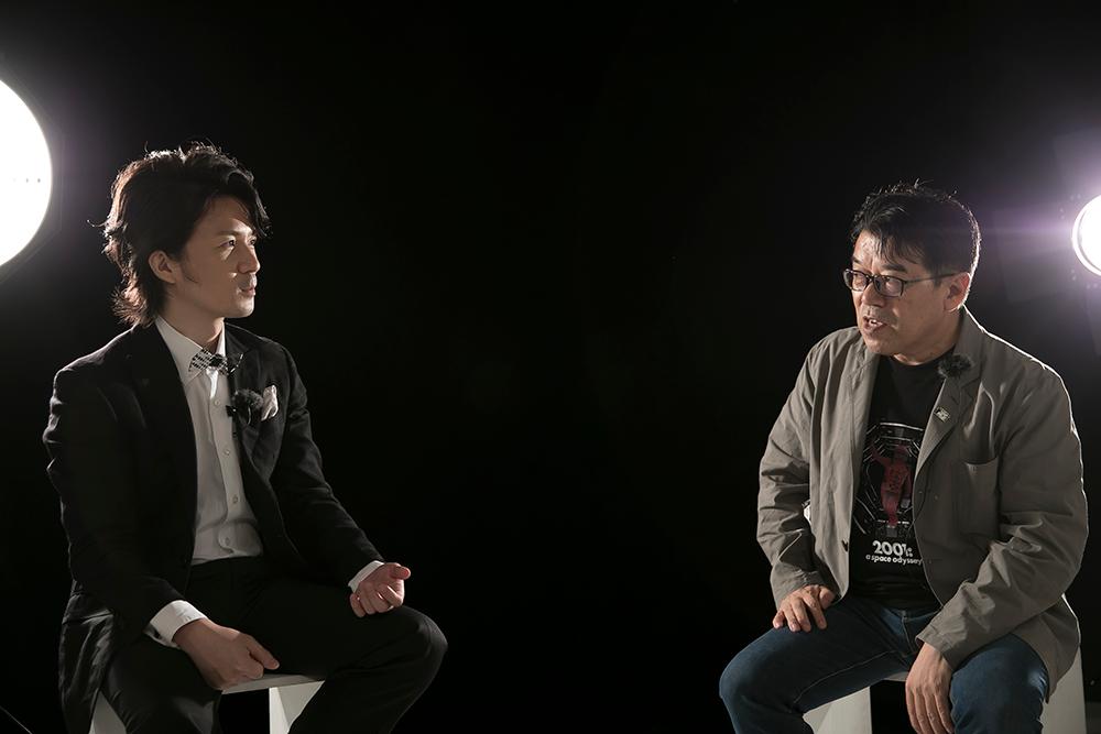 赤井孝美先生と山本耕平さん