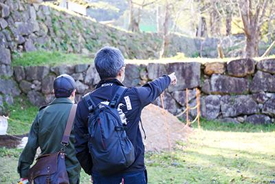 米子城跡保存整備事業